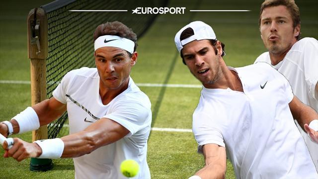 Nadal perdió un partidazo que lo dejó afuera de Wimbledon