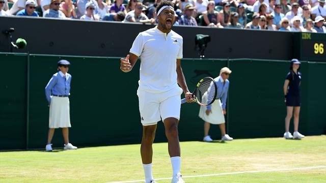 Benoît Paire dominé par Andy Murray — Wimbledon