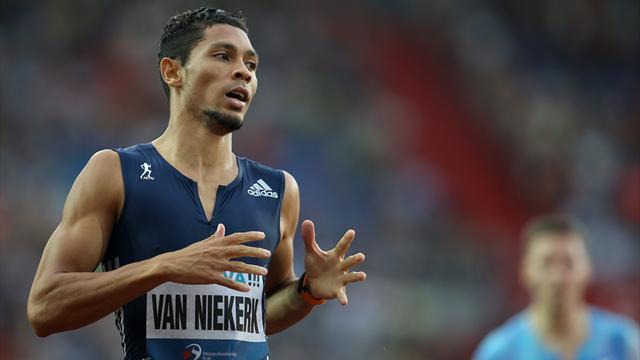 Van Niekerk rentre par la grande porte sur 400m, Lavillenie monte en régime