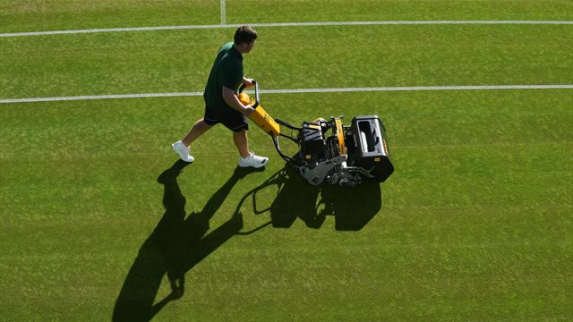 Wimbledon's head groundsman defends state of courts