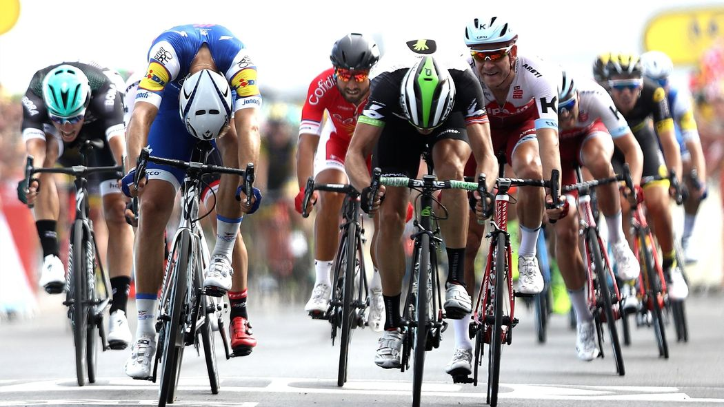 95e2aed94 Tour de France 2017  Marcel Kittel pips Edvald Boasson Hagen in photo  finish to take third win - Tour de France 2017 - Cycling - Eurosport UK