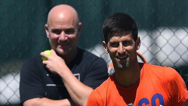 Djokovic to keep Agassi as head coach