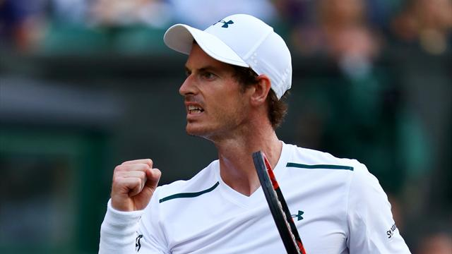 Murray sufre ante Fognini, pero avanza a los octavos — Wimbledon