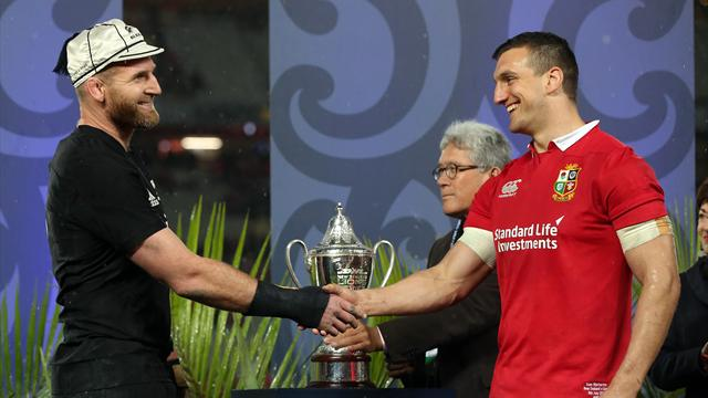 Captains 'speechless' after Lions-All Blacks stalemate