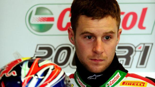 Jonathan Rea finishes top at practice in California