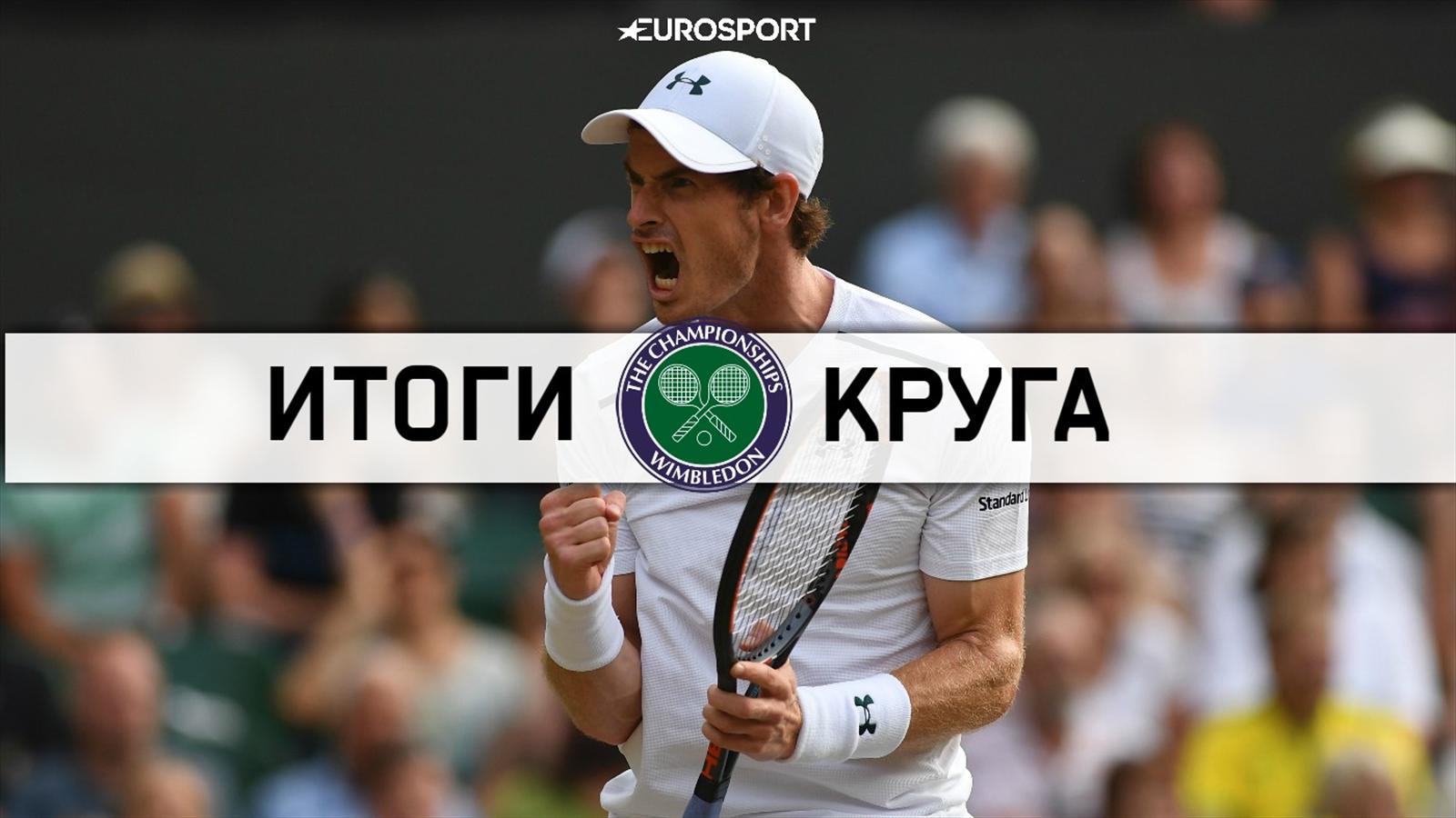Уимблдон 2015: Энди Маррэй — Роджер Федерер