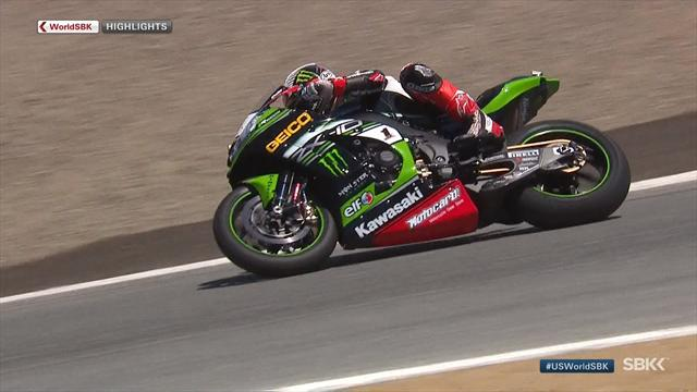 Chaz Davies takes Race 1 in Laguna Seca