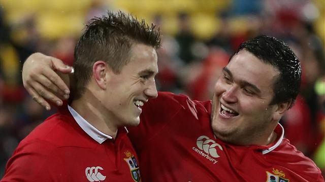 Davies named Lions' player of New Zealand tour