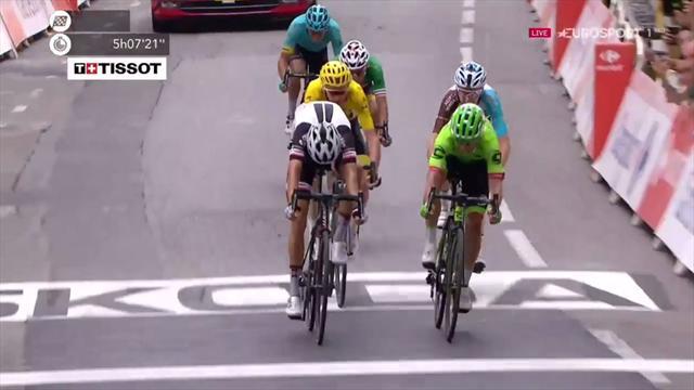 Tour de France: Bodnar tenta lo sgambetto, ma vince ancora Kittel