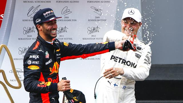 Ricciardo gana la votación al adelantamiento del año en la Fórmula 1