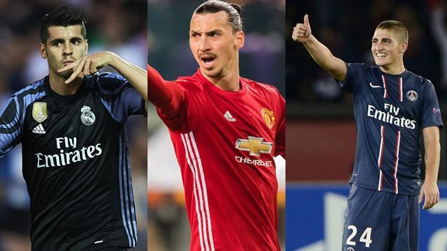 Morata, Ibrahimvoc y Verratti, los nombres del día