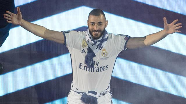 Benzema, ses 100 matches de C1 en 10 dates
