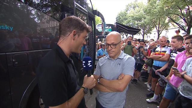 Dave Brailsford: I was upset by Porte crash, I hope he's OK