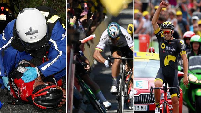 Sagan exclu, Calmejane héroïque, Porte au tapis : Les 7 moments marquants de ce début de Tour
