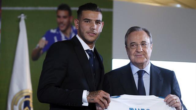 """Theo Hernández, presentado con el Real Madrid: """"Feliz de estar en el mejor club del mundo"""""""