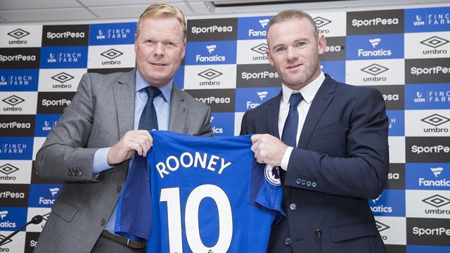 Rooney prévient : Everton, ce n'est pas une «maison de retraite»