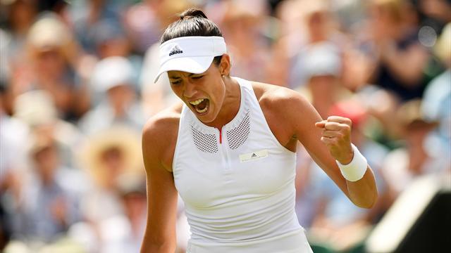 Muguruza elimina a la número 1 y está en cuartos — Wimbledon
