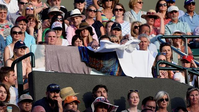 Avanzan Roger y Djokovic a octavos de final en Wimbledon