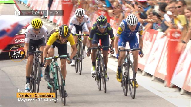 Bauke Mollema ganó la etapa pero sin cambios en la general