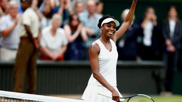 Venus Williams detiene a Ostapenko, la campeona de Roland Garros