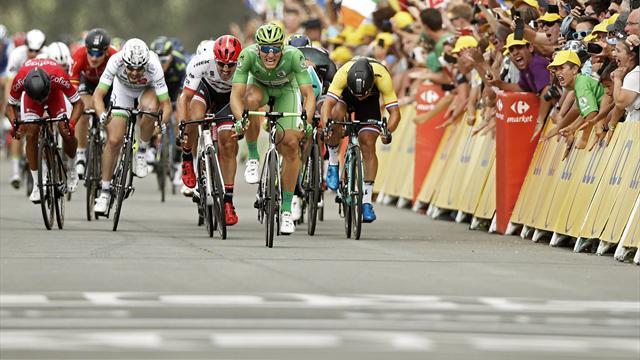 Tour de Francia 2017: La intratable victoria de Kittel y otros grandes momentos de la décima etapa