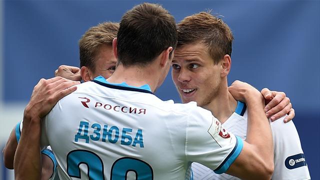 Кокорин забил 2 из 5 голов «Зенита» в ворота «Вардара»