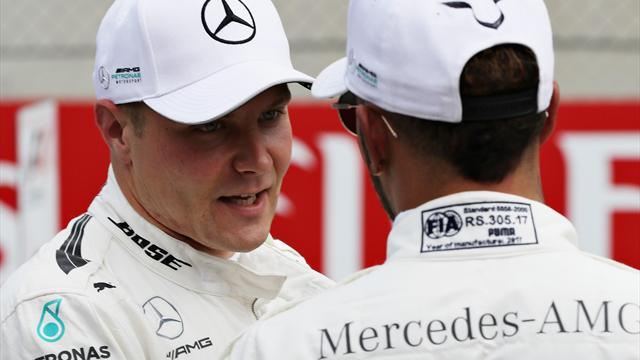 Bottas leads Mercedes one-two in British GP practice