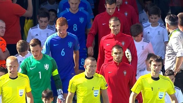 Une bourde du gardien néerlandais et le Portugal jouera le titre
