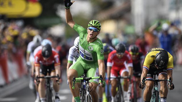 Tour de Francia 2017: Quinta victoria al esprint de Marcel Kittel