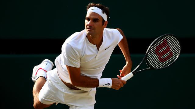 Wimbledon 2017, Raonic-Federer: La excelencia está en semifinales 4-6, 1-6 y 6-7