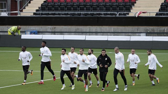 Galatasaray, Östersunds maçı hazırlıklarını sürdürdü