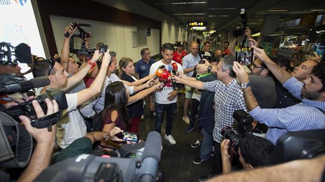 Vitolo está en Madrid para su fichaje por el Atlético