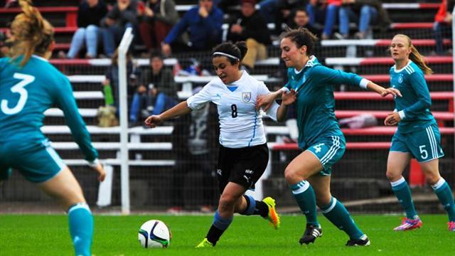 Uruguaya y Alemania Universitaria empatan 1-1 en un amistoso jugado en Montevideo