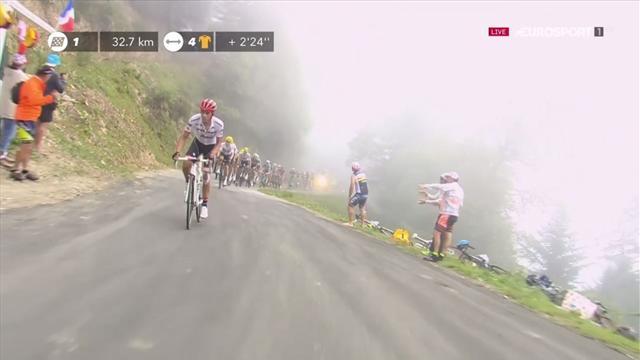 Tour de Francia 2017: El ataque de Contador en el puerto de Balés