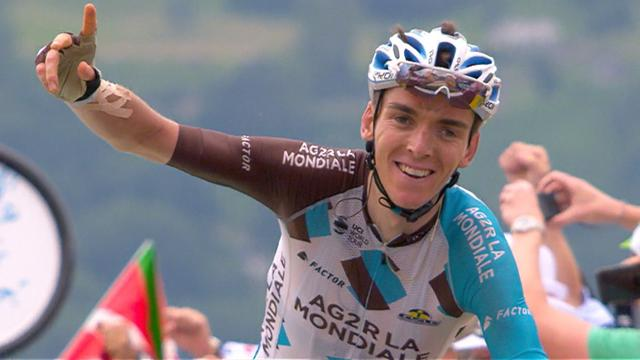 Bardet takes win in gruelling finish as Froome fades and Aru claims yellow