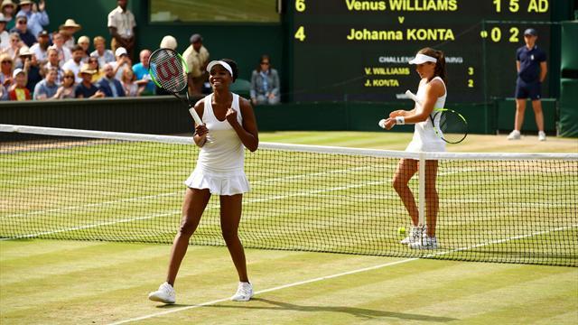 Venus Williams, finalde Muguruza'nın rakibi oldu