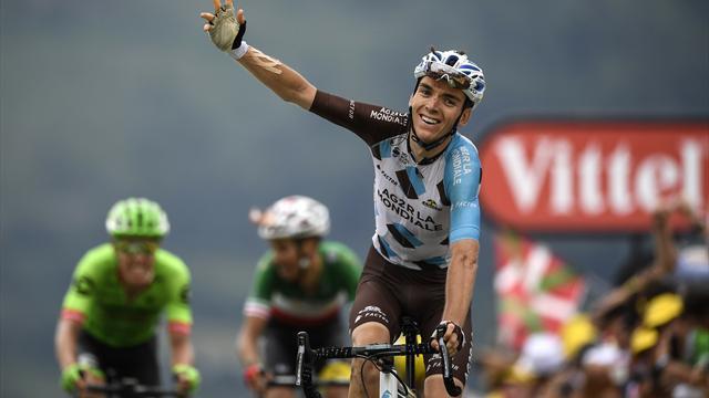 Fabio Aru preia tricoul galben în timp ce Romain Bardet câștigă etapa a 12-a la Peyragudes