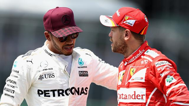 Vettel vs Hamilton: 7 GP per un finale da film