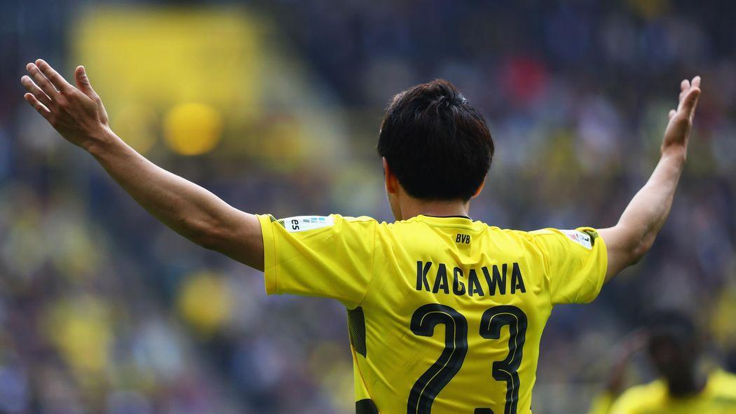 Shinji kagawa signs new deal with borussia dortmund bundesliga shinji kagawa signs new deal with borussia dortmund bundesliga 2017 2018 football eurosport voltagebd Gallery