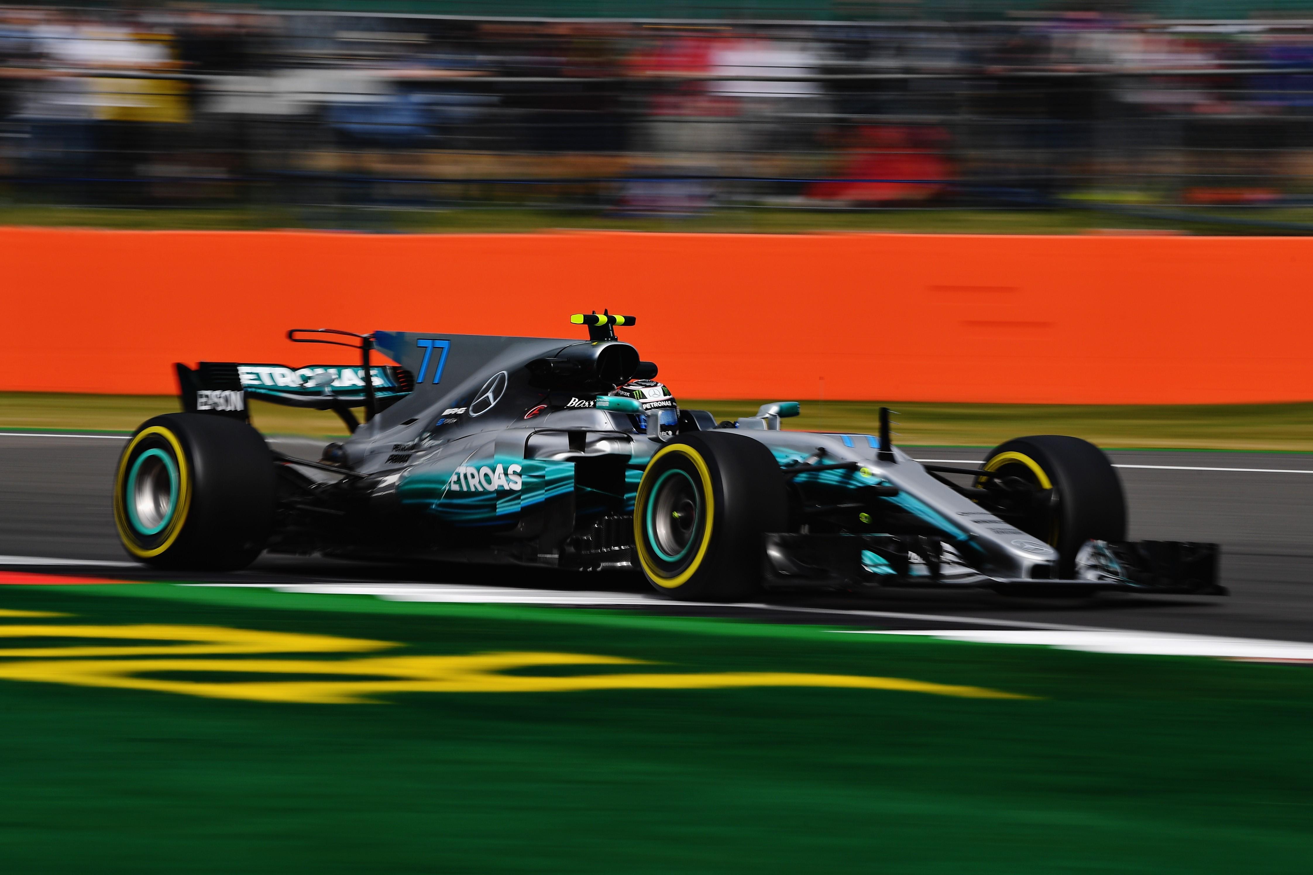 Valtteri Bottas (Mercedes) au Grand Prix de Grande-Bretagne 2017