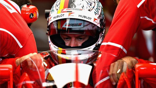 """Vettel: """"Dobbiamo migliorare a livello di bilanciamento, la macchina è un po' scivolosa"""""""