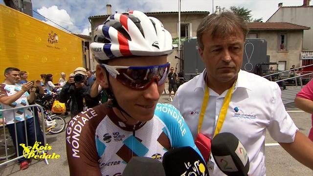 Bardet gagne la 12ème étape, Froome cale — Tour de France