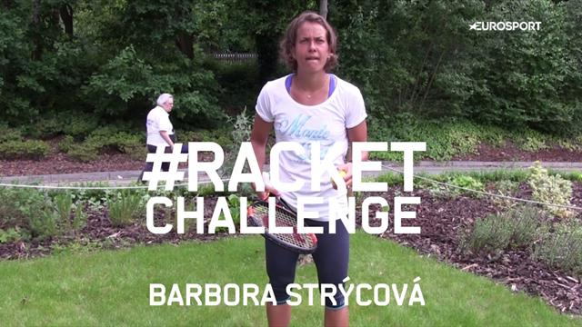 Racket Challenge: Barbora Strycova