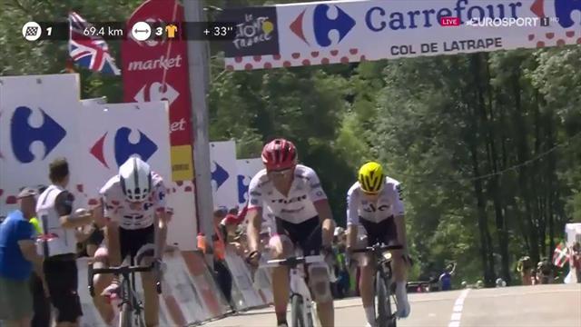 Tour de Francia 2017: Contador y Landa lanzan su ataque coronando Latrape