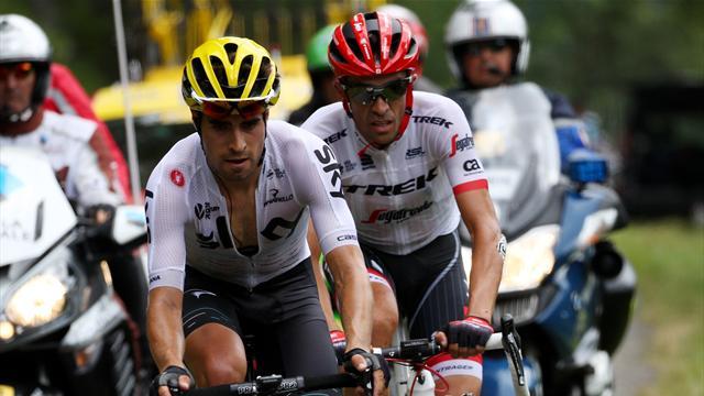 Tour de Francia 2017: La memorable cabalgada de Contador y Landa que se quedó sin victoria
