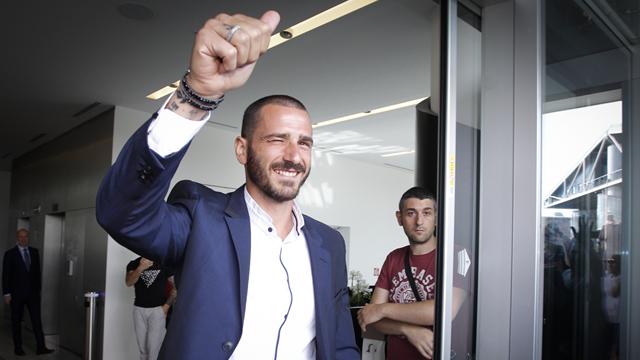 """""""Grazie Juve"""" : la lettre de remerciements de Bonucci (qui oublie Allegri)"""