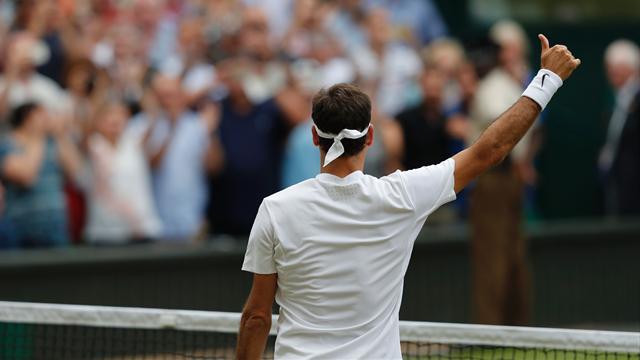 Titre et nouveau record pour Roger Federer à Wimbledon