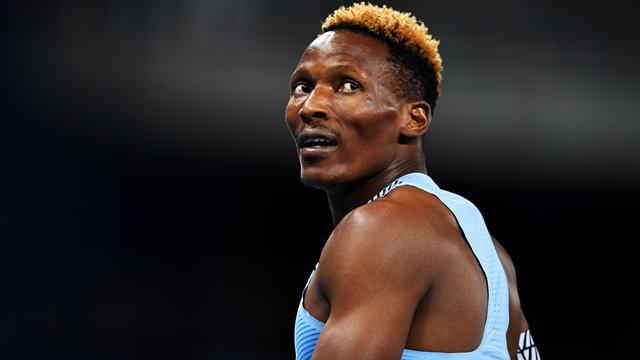 Le Botswanais Makwala réalise la meilleure performance mondiale de la saison sur 200 mètres