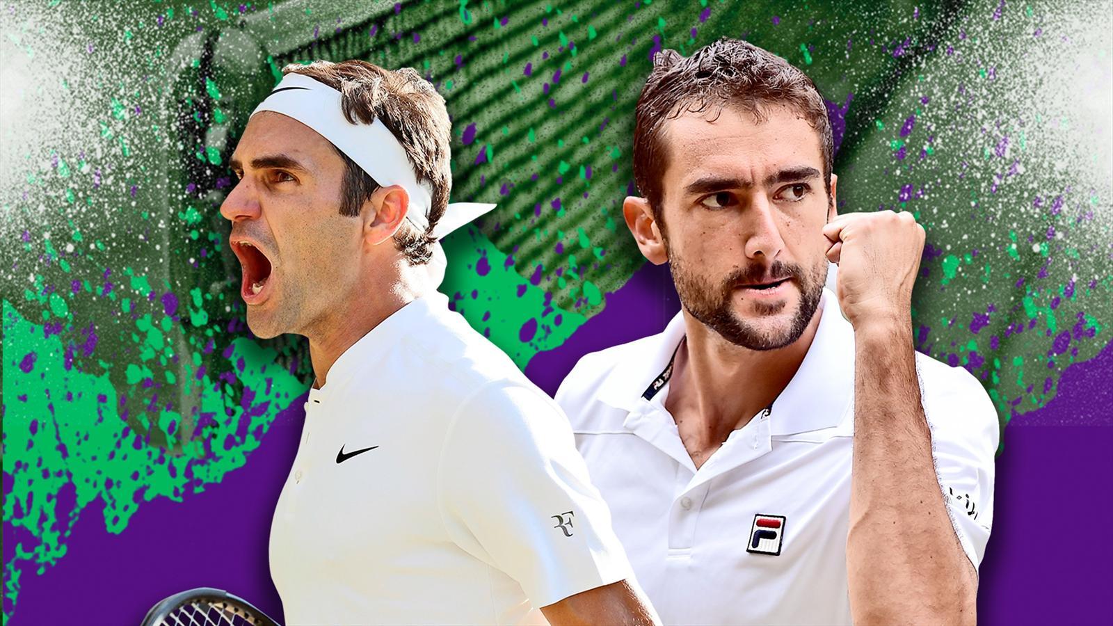 Finale messieurs - Federer veut redevenir le roi de Wimbledon, Cilic rêve d'en être le prince