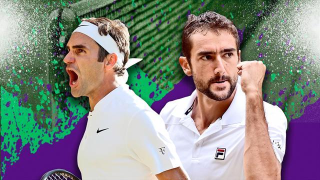 Federer veut redevenir le roi de Wimbledon, Cilic rêve d'en être le prince
